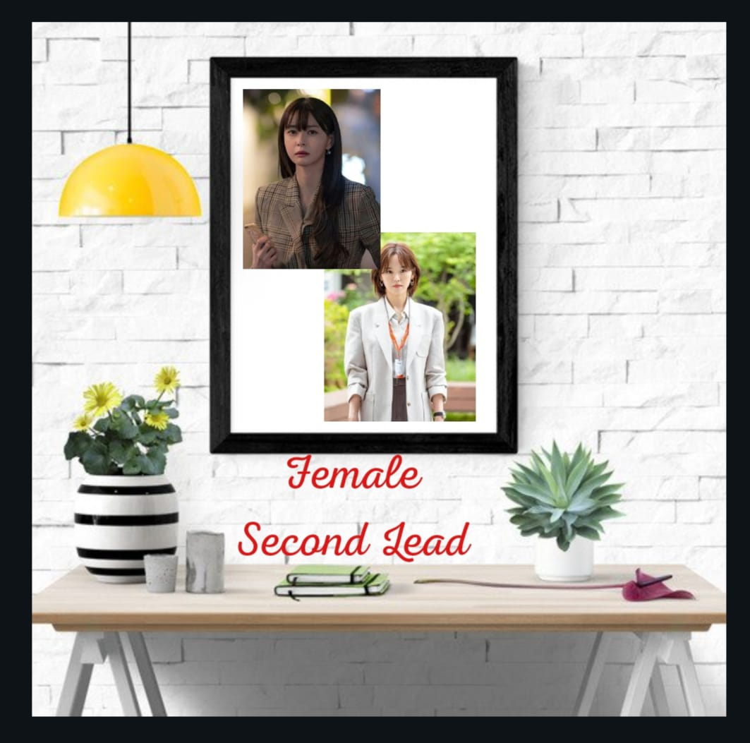 female second lead